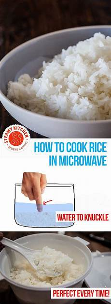how to cook rice in the microwave perfect every time