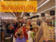 stores open on thanksgiving day