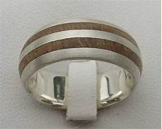 men s silver wooden wedding ring love2have in the uk