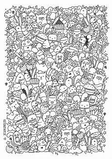 Kawaii Ausmalbilder Zum Ausdrucken Kostenlos Pin Auf Doodles