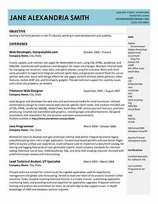 resume sle doc free excel templates
