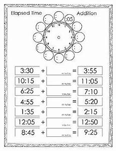 elapsed time math worksheets 3rd grade 3673 elapsed time addition homeschool math 3rd grade math elementary math