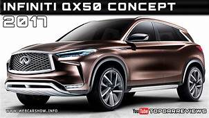 2017 Infiniti QX50 Concept Review Rendered Price Specs