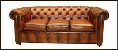 elegante uk chesterfield sofa 2er 3er sitzer leder