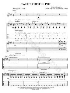 cracker quot sweet thistle pie quot guitar tab in e major download print sku mn0059269