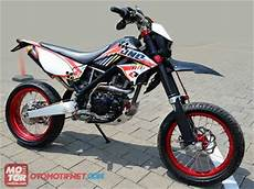 D Tracker Modif Supermoto by Modif Trail Kawasaki D Tracker 150 Supermoto Oto