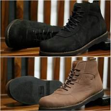 jual sepatu pria ocean brodo sepatu boot pria sepatu kulit sepatu casual high di lapak