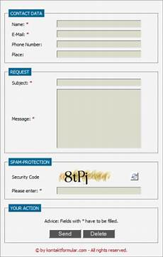 contact form homepage php contact form script download
