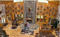 lee and tiffany lakosky show off the great room of their