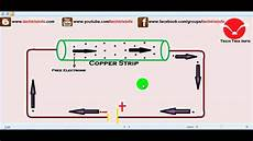how electric current flow works youtube