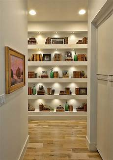 Interior Shelves by Suburban House With Exposed Interior Wood Beams