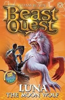Beast Quest Malvorlagen Indonesia The Moon Wolf Adam Blade 9781408303795