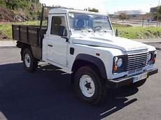 land rover defender up occasion annonce land rover defender d occasion de 2010 92 400 km