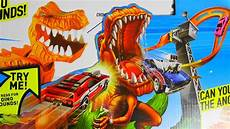 angry dino can you defeat him wheels t rex takedown