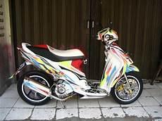 Motor Modif Dijual by Ngecat Motor Dijual Suzuki Spin Modif Poser