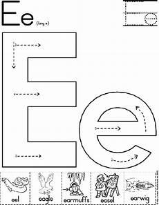 alphabet worksheets letter e 24096 alphabet letter e worksheet standard block font preschool printable activity school