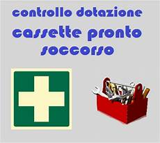 cassette di pronto soccorso vendita controllo dotazione cassette pronto soccorso