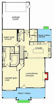 small expandable house plans cottage with flexible bedrooms 15051nc floor plan main