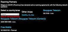 Free Mobile Premiers Accords D Itin 233 Rance Avec Des