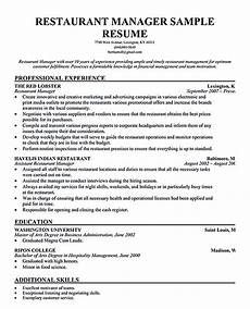 restaurant manager resume will ease anyone who is seeking for related to managing a