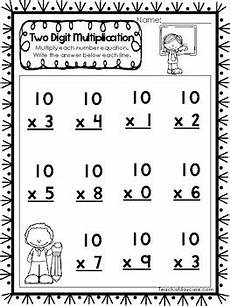 free worksheets for second grade 20429 15 two digit multiplication printable worksheets 2nd 4th grade math