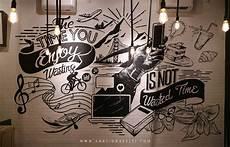 Me Time Cafe Project Adr1 Graffiti Mural Surabaya
