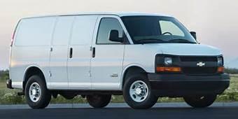 2007 Chevrolet Express Cargo Van Dimensions  ISeeCarscom