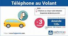 T 233 L 233 Phone Au Volant Amende Et Perte De Points Legipermis
