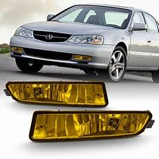 acura tl lights fits 2002 2003 acura tl type s replacement bumper yellow