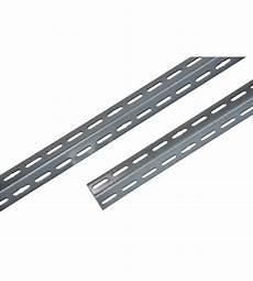 angolari per scaffali angolare 35x35 mm alto 200 cm di colore grigio per scaffali