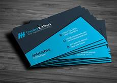 business card template blue blue creative business card template graphic