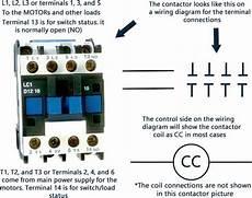 compressor contactors for air conditioners and heat pumps
