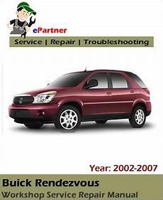 buick rendezvous pdf service repair manual 2002 2007 pdf factory repair manuals buick rendezvous service repair manual 2002 2007 automotive service repair manual