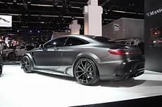 s63 amg coupe frankfurt 2015 mansory mercedes s63 amg coupe black