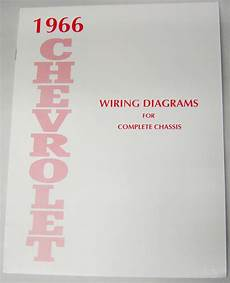 1966 chevrolet impala wiring diagram 66 1966 chevy impala electrical wiring diagram manual i 5 classic chevy