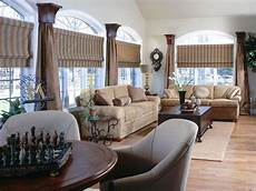 Decorating Ideas For Windows In Living Room by Fresh Window Treatment Ideas Hgtv
