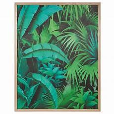 Tableau En Bois 67 X 85 Cm Into The Jungle Maisons Du Monde