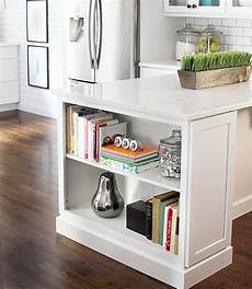 Kitchen Island Add On Ideas by Kitchen Island Bookshelf For Cookbooks To Add On