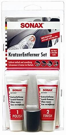 sonax lederpflege set 187 sonax 305941 kratzerentfernerset lack 50ml