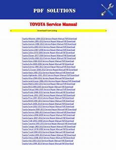 small engine repair manuals free download 2002 ford escort navigation system toyota workshop service repair manual pdf download