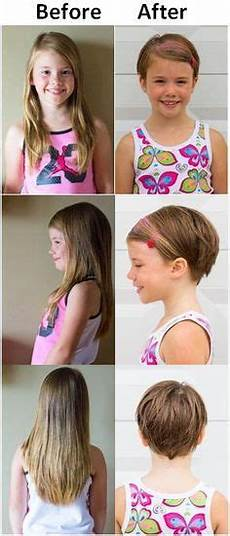 pixie cut haircut for toddlers or young girls with thin or