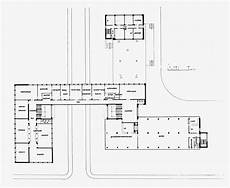 bauhaus building dessau 1925 1926 first floor plan 1