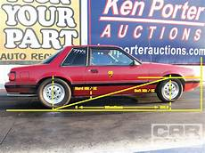 1987 ford mustang burgundy rod network