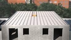 toit plat en tole plancher toiture terrasse