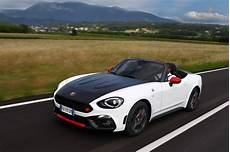 abarth 124 spider pricing announced 100 to be