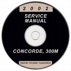 free online auto service manuals 2002 dodge intrepid parking system 2002 chrysler concorde 300m and dodge intrepid service manual cd rom