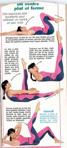 Exercice Fitness Ventre Plat Femme