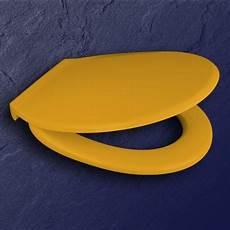 pagette wc sitz exklusiv farbe gelb ral 1004 scharniere
