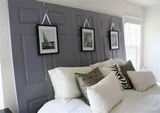 tete de lit bois peint les concepteurs artistiques tete de lit grise design