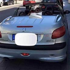 peugeot 206 automatik peugeot 206 cc cabrio automatik 80kw tolle angebote in peugeot